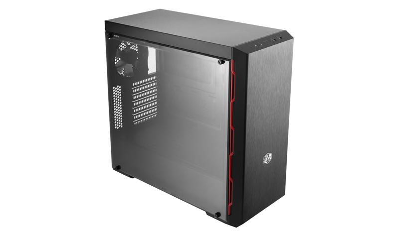 MasterBox MB600L CM Red Trim MCB-B600L-KA5N-S00