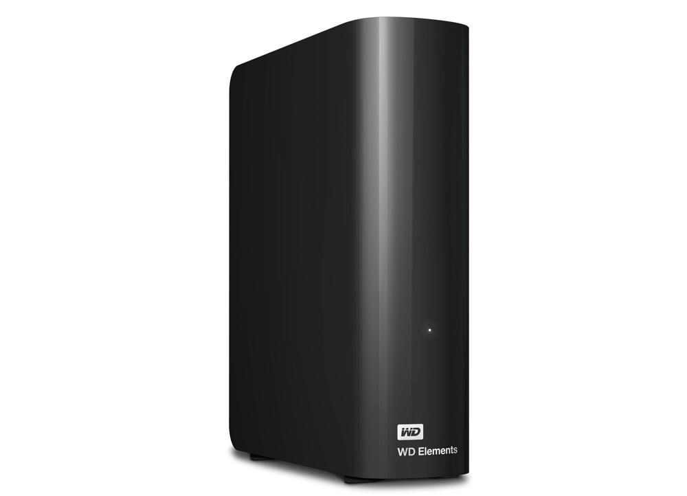 """Εξωτερικός Σκληρός Western Digital Elements 3.5"""" WDBWLG0020HBK 2TB USB 3.0 image"""
