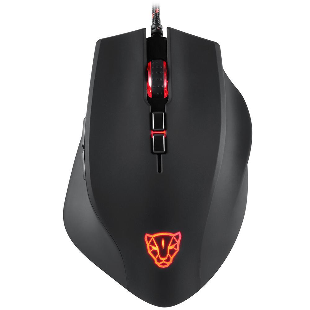 Ενσύρματο Gaming Laser Ποντίκι Motospeed V80 5000dpi Black image