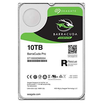 """HDD Seagate Barracuda PRO 3.5"""" 10TB ST10000DM0004"""