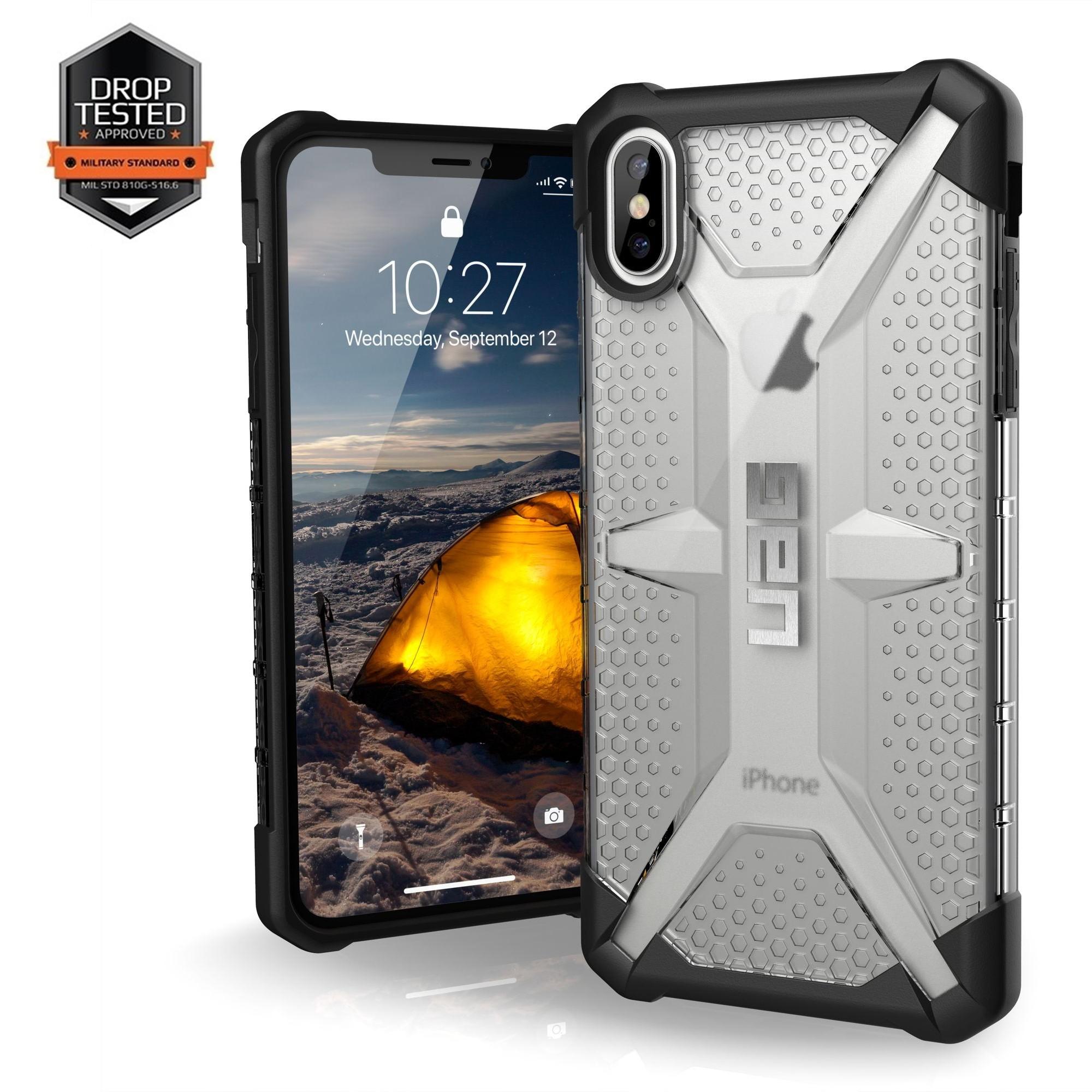 iPhone Xs MAX UAG Plasma Case Ice-Black 111103114343 image