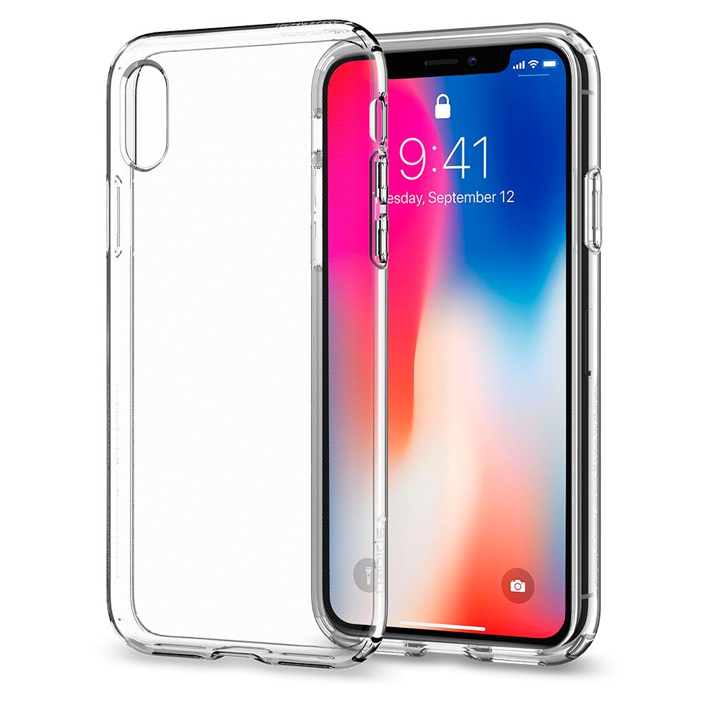 iPhone X/Xs Spigen Liquid Crystal Clear Silicone Case 063CS25110 image