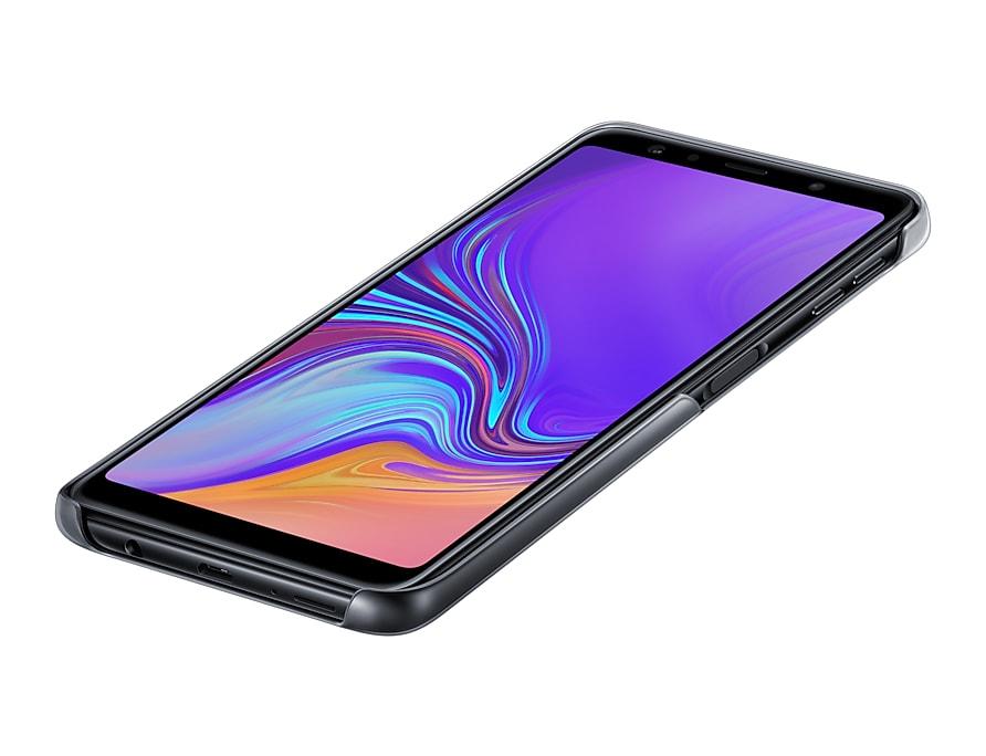 "Samsung Galaxy A7 2018 6"" Gradation Cover Ultra Thin Black EF-AA750CBE image"