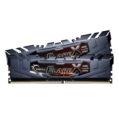 FlareX By G.Skill 2x8GB KIT For AMD DDR4 3200MHz CL14 F4-3200C14D-16GFX image