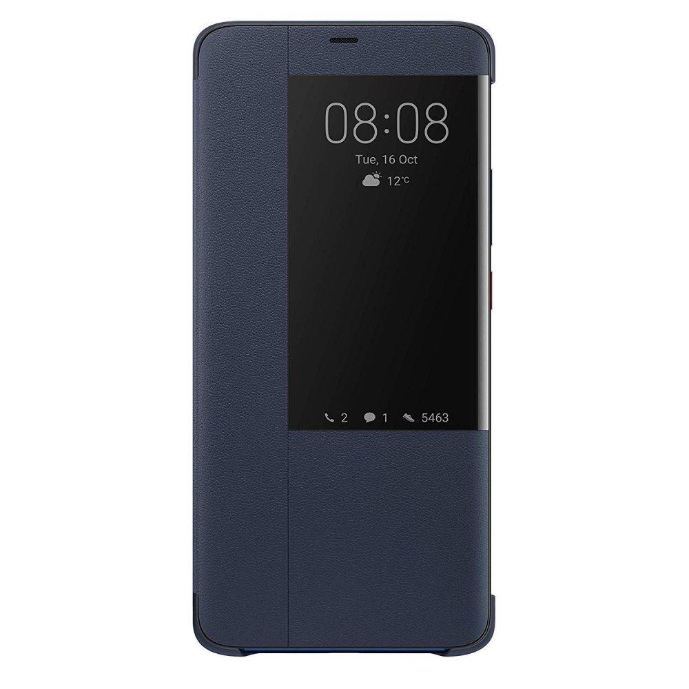 """Γνήσια Θήκη Flip Case Για Το Huawei Mate 20 Pro 6.39"""" Με Παράθυρο Deep Blue 51992624 image"""
