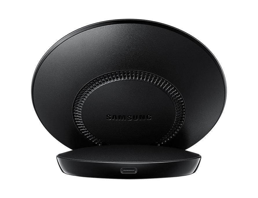 Ασύρματος Ταχυφορτιστής + Φορτιστής Ταξιδίου Samsung Galaxy S9, S9 Plus Black EP-N5100TBE