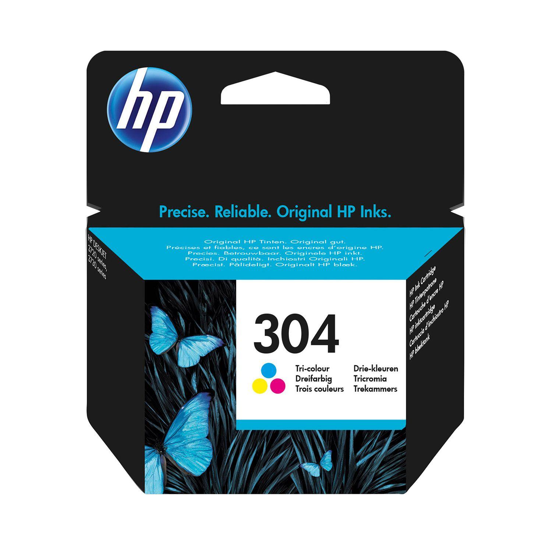 Γνήσιο Μελάνι HP 304 Tri-Colour N9K05AE image