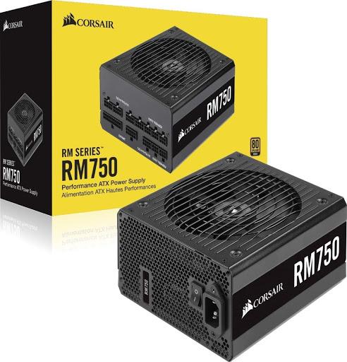 Power Supply (Τροφοδοτικό) RM Series RM750 80+ Gold 750W CP-9020195-EU image