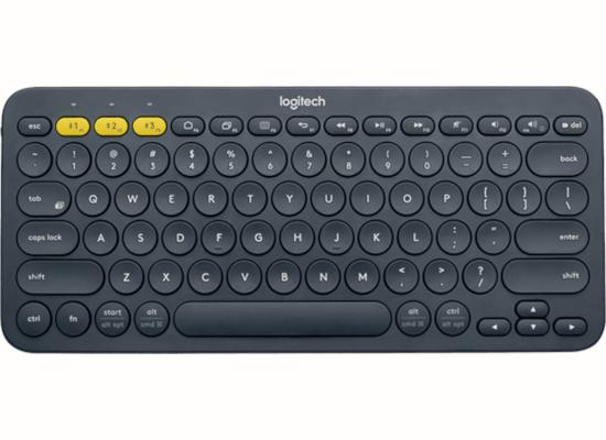 Πληκτρολόγιο Ασύρματο Logitech K380 Multi-Device Dark Grey US 920-007582