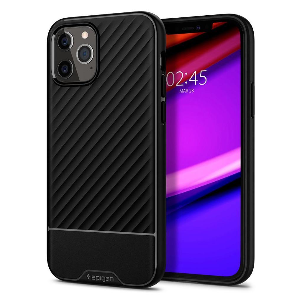iPhone 12 Pro Max Spigen Core Armor Case Black ACS01471 image