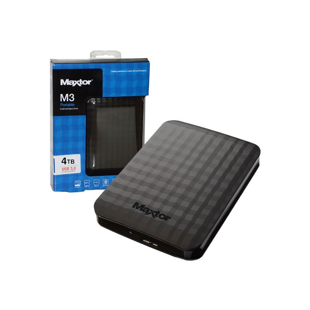 """Εξωτερικός Σκληρός Maxtor M3 4TB USB 3.0 2.5"""" STSHX-M401TCBM Black image"""