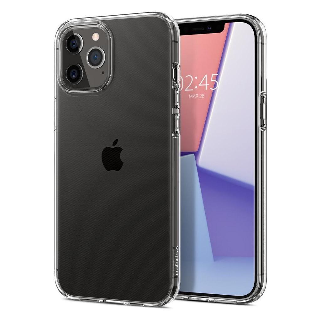 iPhone 12 Pro Max Spigen Liquid Crystal Case Clear ACS01613