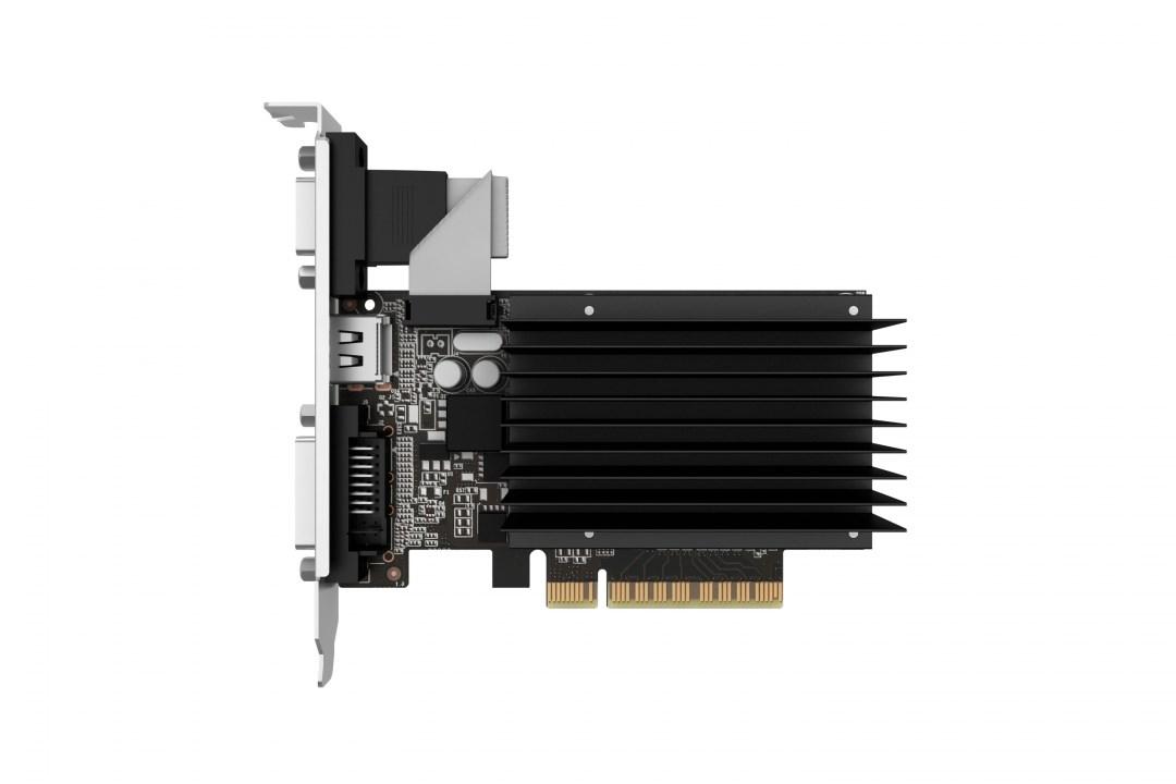 Κάρτα Γραφικών DDR3 2GB Palit GeForce GT710 Silent NEAT7100HD46H-2080H image