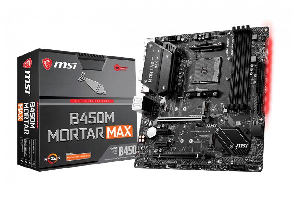 Motherboard MSI B450M Mortar MAX Socket AM4 7B89-016R image