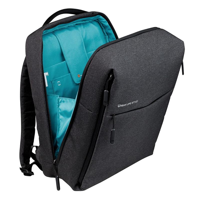 """Θήκη Πλάτης Για Laptop 15.6"""" Mi City Backpack 2 Dark Grey image"""