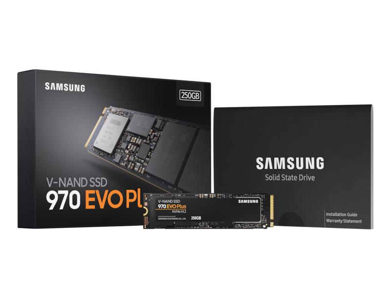 SSD 970 EVO Plus  NVMe M.2 250GB Samsung MZ-V7S250 image