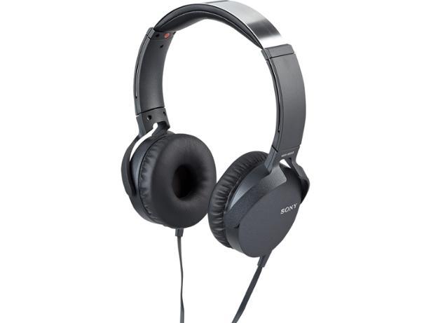 Ακουστικά Κεφαλής Στερεοφωνικά Extra Bass Sony MDR-XB550AP Black image