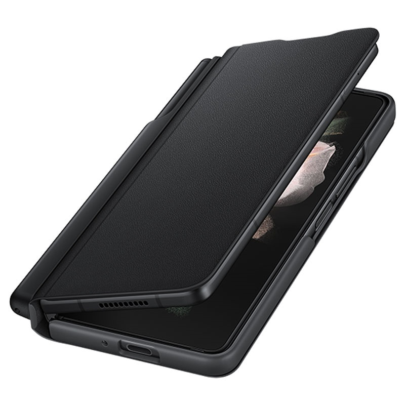 Original Flip Cover With S Pen For Samsung Galaxy Z Fold 3 EF-FF92PCBEGEW