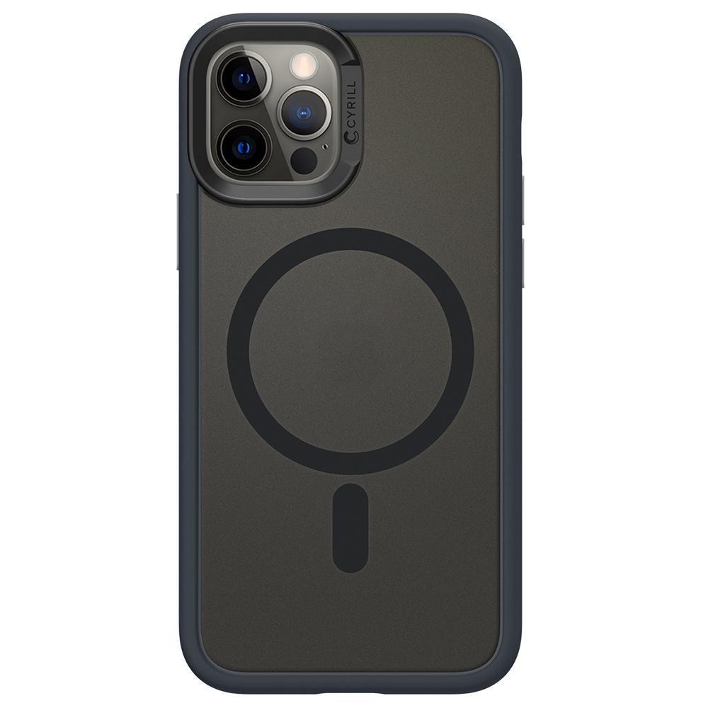 iPhone 12/12 Pro Spigen Cyrill Color Brick Back Cover Πλαστικό Graphite ACS02499 image