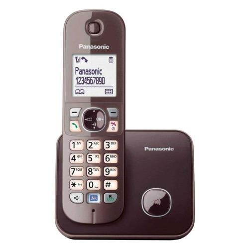 Ασύρματο Panasonic KX-TG6811GA Mocca-Brown EU image