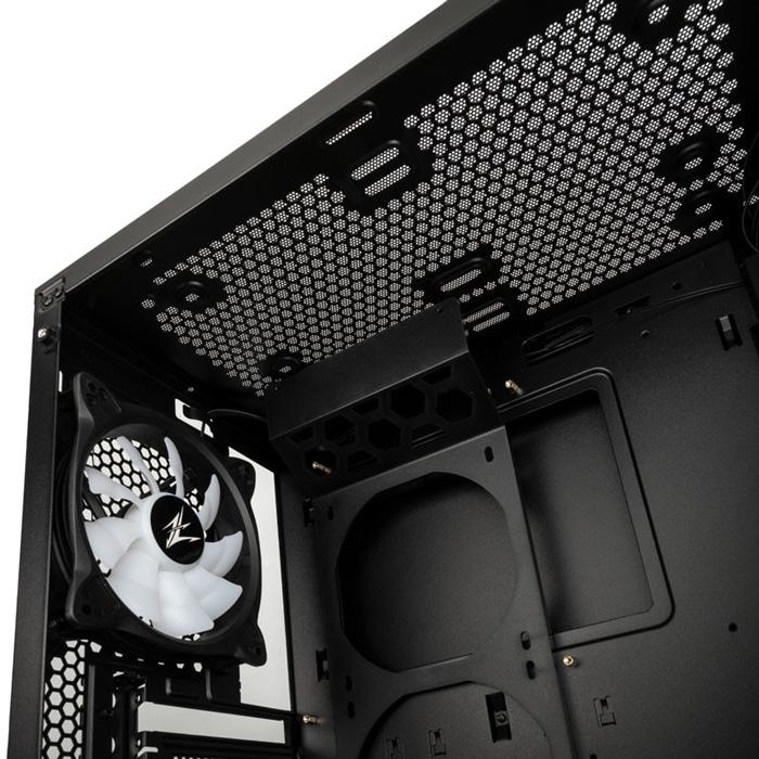 Zalman Case ATX S5 Black RGB Mid Tower ZM-S5-BK image