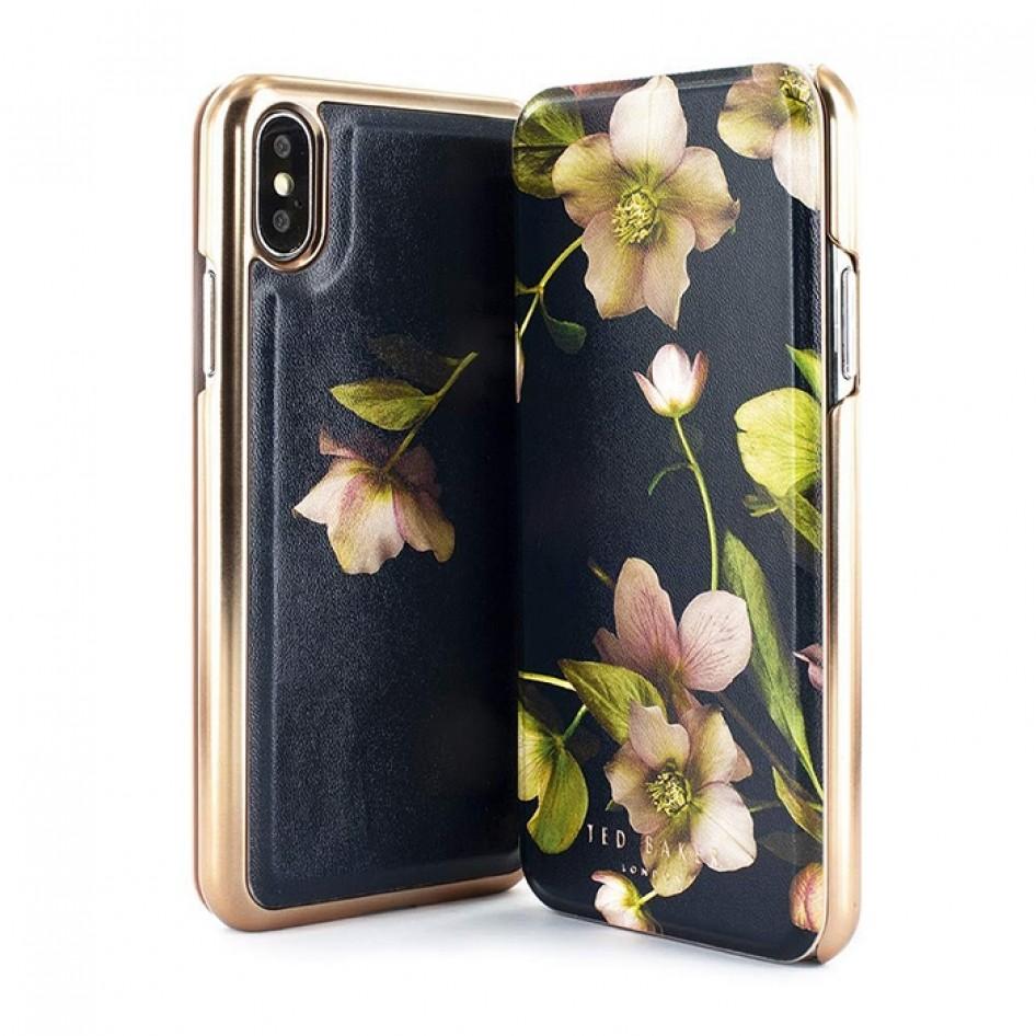 iPhone Xs Max Mirror Folio Case ARBORETUM Ted Baker 65058