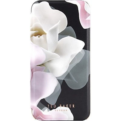 iPhone 8 (7/6/6S) Mirror Folio Case KNOWANE Porcelain Rose Black Ted Baker 41779 image