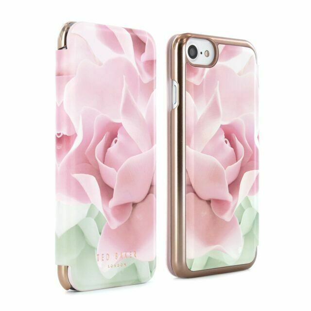 iPhone 8/7/6/6S/SE 2020 Mirror Folio Case KNOWAI Porcelain Rose Ted Baker 41786 image