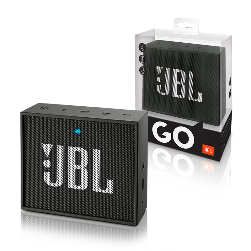 Φορητό Bluetooth Ηχείο JBL GO Black JBLGOBLK image