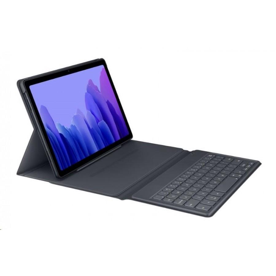 Γνήσια Θήκη Πληκτρολόγιο EF-DT500UJE Για Galaxy TAB A7 10.4 T500/T505 Black