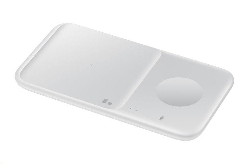 Ασύρματος Ταχυφορτιστής 9W + Φορτιστής 15W Samsung Charger Duo White EP-P4300TWE