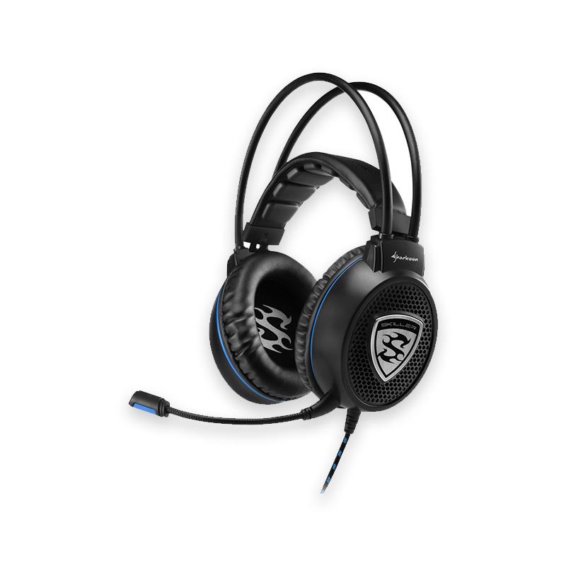 Gaming Ακουστικά Κεφαλής Στερεοφωνικά Skiller Sharkoon black SGH1  image