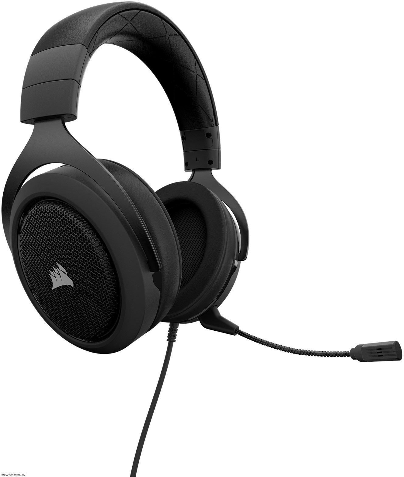 Ακουστικά Κεφαλής Στερεοφωνικά Carbon HS50 Corsair PC,Mac,PS4,Mobile CA-9011170-EU image