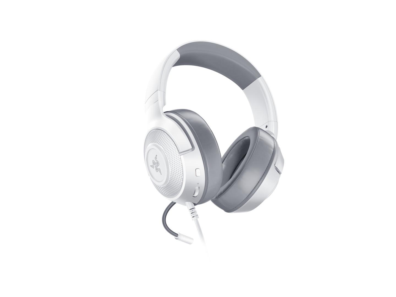 Ακουστικά Κεφαλής Kraken X 7.1 Mercury White PC,MAC,PS4,XBOX ONE/MOBILE  image