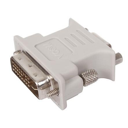 Adapter DVI-I 24+5 pin Male σε VGA Female CA301 Vcom image