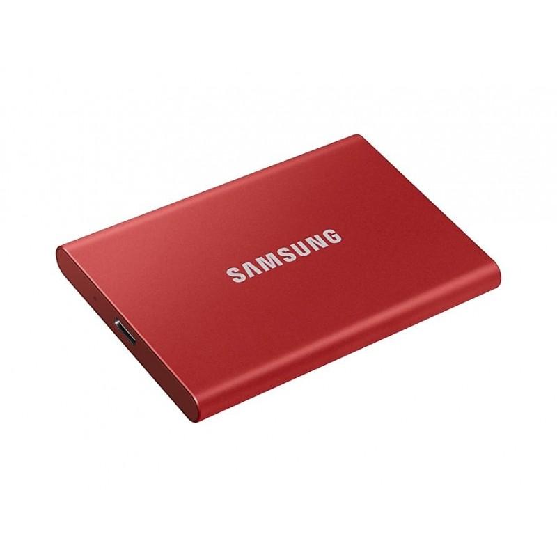 Εξωτερικός Σκληρός Δίσκος Red Samsung Portable SSD T7 500GB MU-PC500R