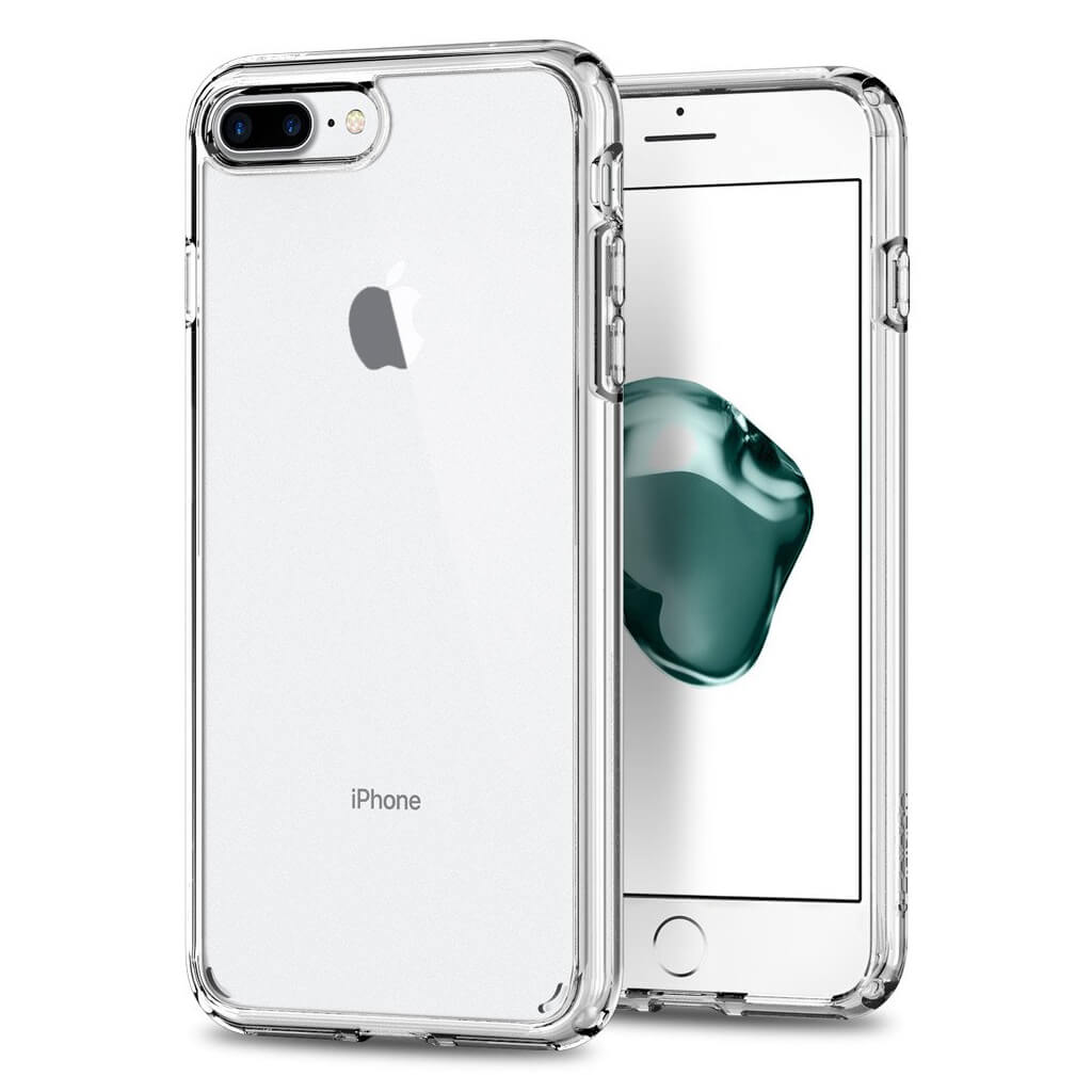 iPhone 8/7 Plus Spigen Ultra Hybrid 2 MIL-STD Clear 043CS21052 image