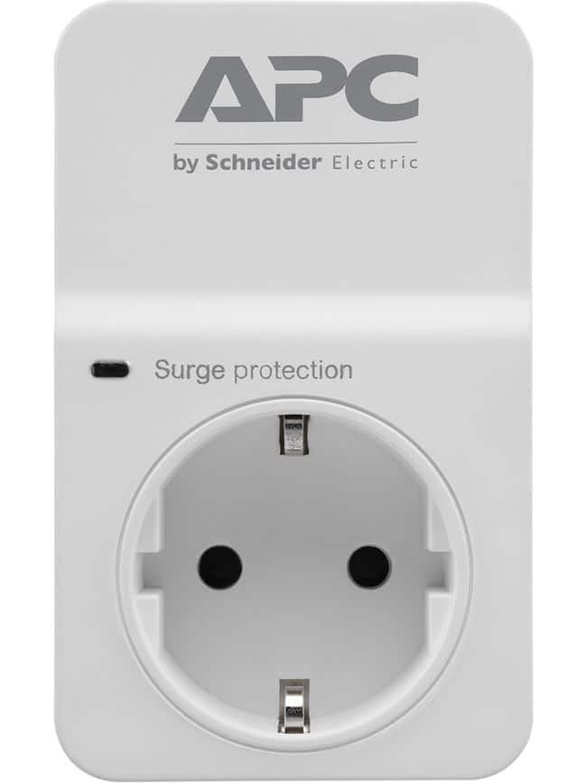 Πρίζα Ασφαλείας APC SurgeProtector 1 Outlet PM1W-GR image