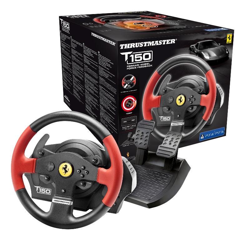 Τιμονιέρα T150 Ferrari Edition EU Version Wheel Force PS3,PS4,PC Thrustmaster  4160630