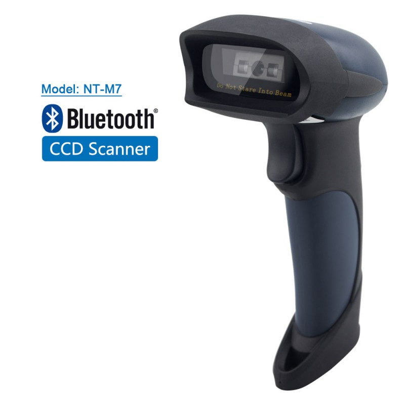 Barcode Scanner Netum NT-M7 1D CCD Bluetooth Wireless image