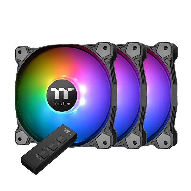 Ανεμιστήρας x3 120mm*25mm Pure 12 ARGB Sync Radiator thermaltake CL-F079-PL12SW-A image