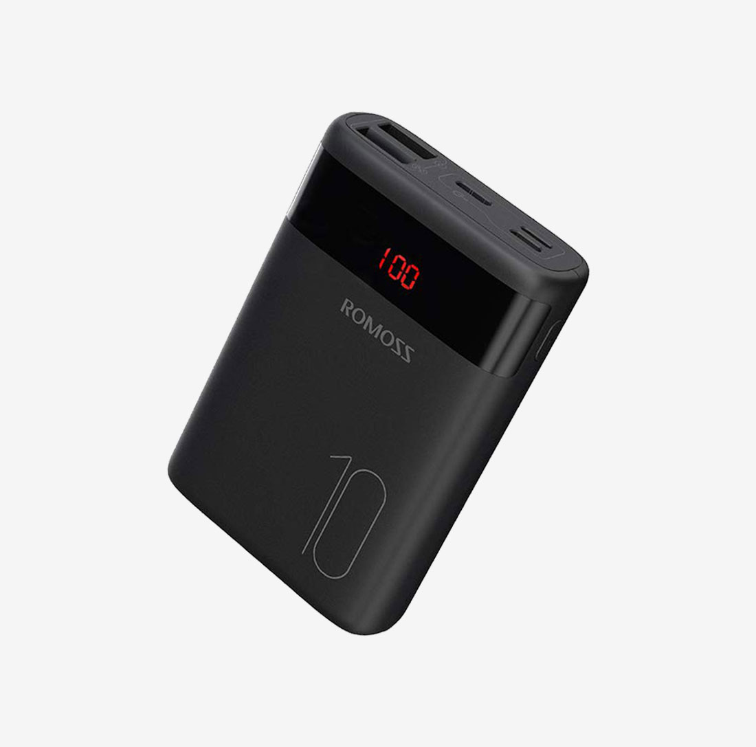Power Bank Ares 10 Black 10000mah Dual USB image