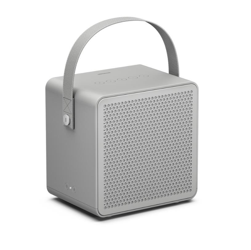 Φορητό Ηχείο Urbanears Ralis Bluetooth Speaker Subwoofer 10W, Tweeters x2 5W Mist Grey image