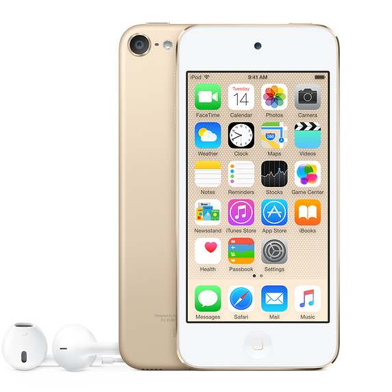 iPod Touch 6th Generation 32Gb Gold MKHT2FD/A