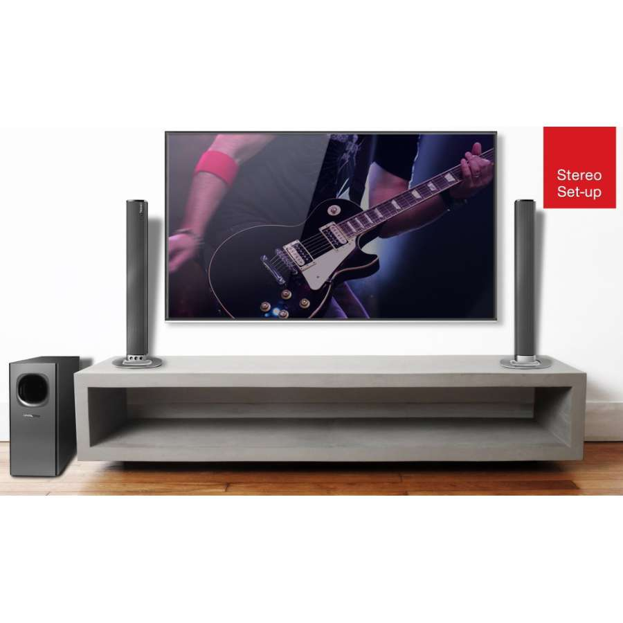 Bluetooth Soundbar 2-in-1 240W CASB240 Crystal Audio image