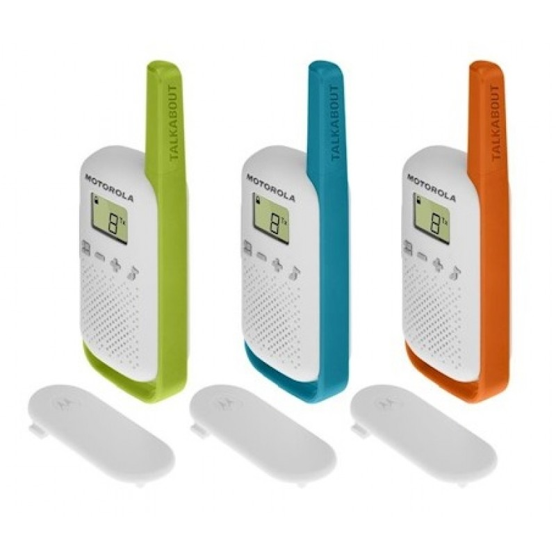 Motorola Talkabout T42 Triple-pack 4km Walkie-Talkie image
