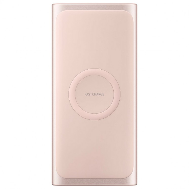 Power Bank Original Samsung Wireless Battery Pack Type C 10000mAh Pink EB-U1200CPE image